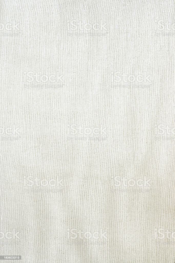 Texture of fabric from a gauze stock photo