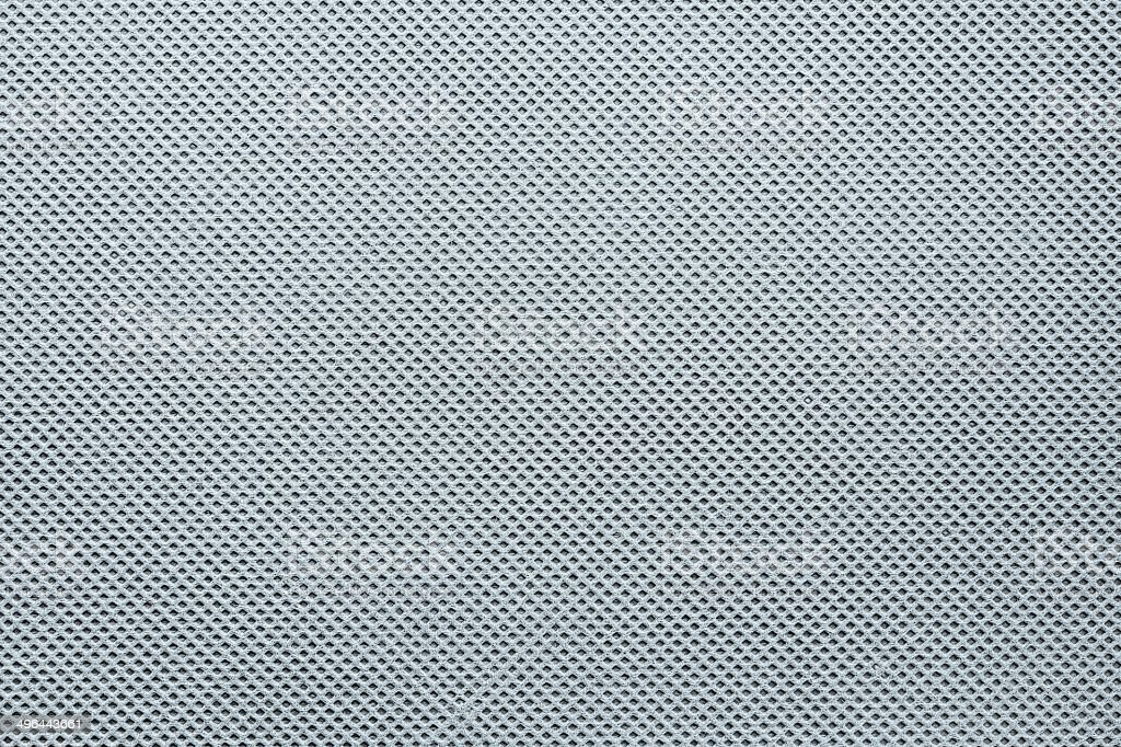 texture of fabric grid gray and silvery shades stock photo