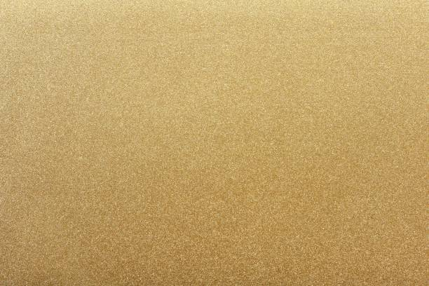 Texture of gold metal steel, abstract background stock photo