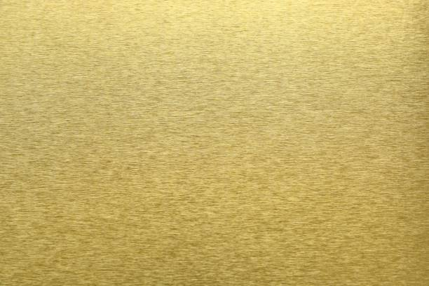 황금 금속, 추상 패턴 배경, 선택적 초점의 질감 - 솔질 뉴스 사진 이미지