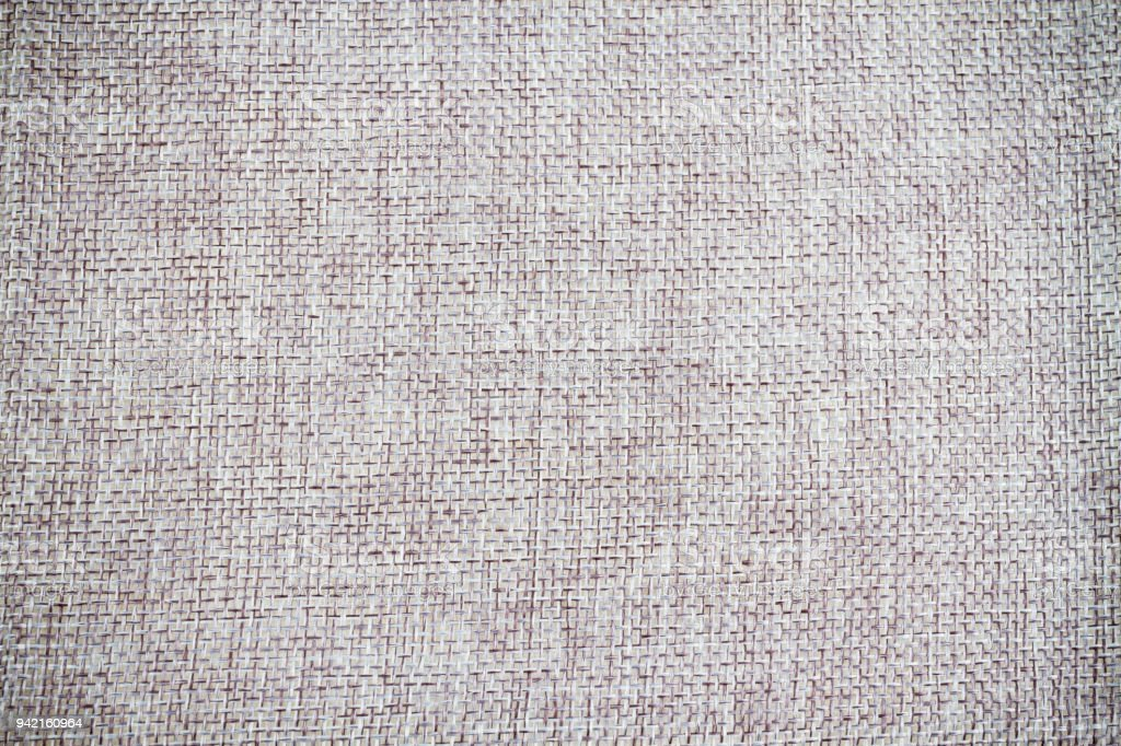 Texture of gray calico fabric. stock photo