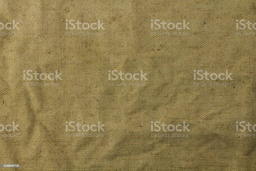 Grobe Textur des grünen Tuch – Foto