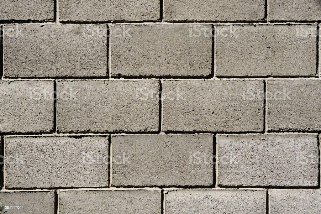 Texture of grey cream brick wall foto stock royalty-free