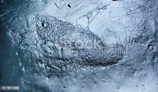 istock texture of ice, frozen water 517811499
