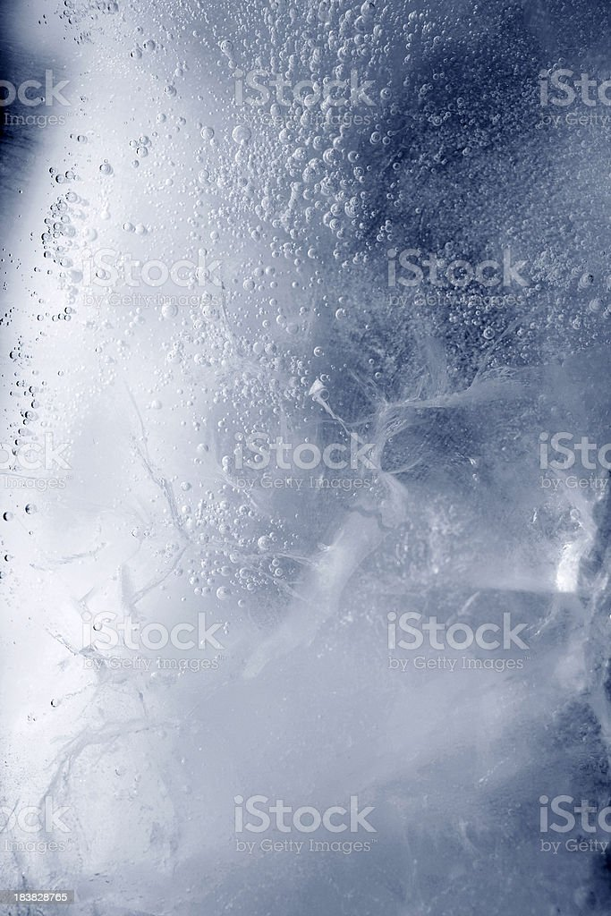 Texture of ice. royalty-free stock photo