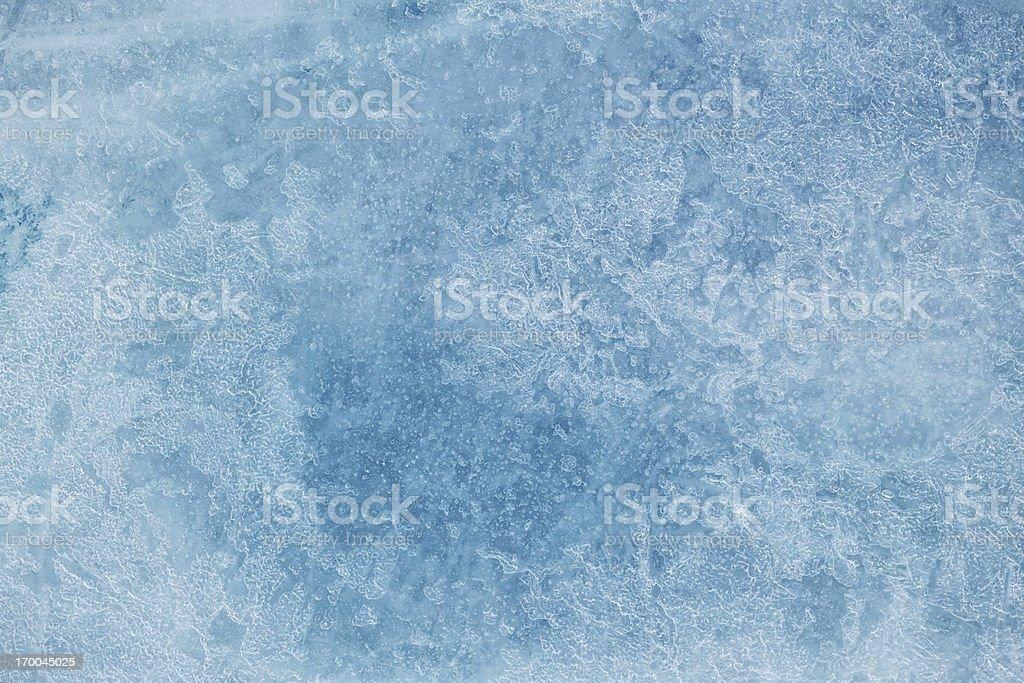 Texture of ice XXXL stock photo