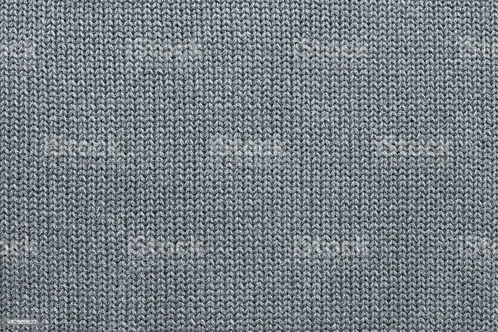texture of knitted silvery fabric stock photo