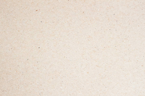 Texture of light beige paper for watercolor and artwork. Modern background, backdrop, substrate, composition use with copy space stock photo