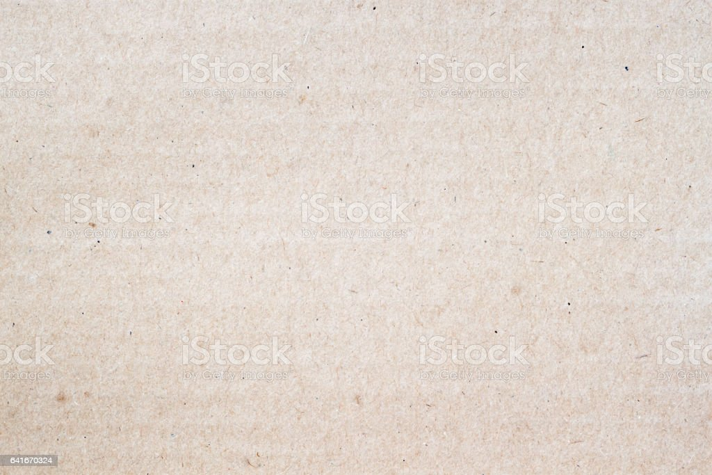 Texture of light brown paper, background for design with copy space text or image stock photo