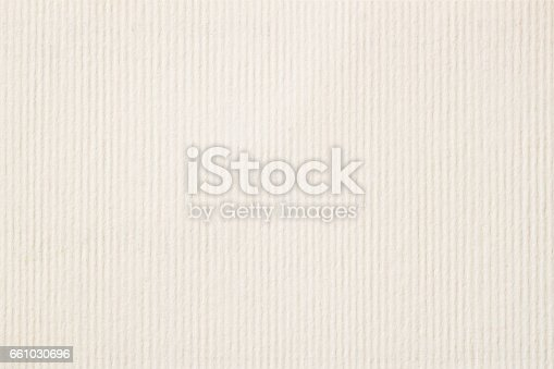 istock Texture of light cream in a strip paper, gentle shade for watercolor and artwork. Modern background, backdrop, substrate, composition use with copy space 661030696
