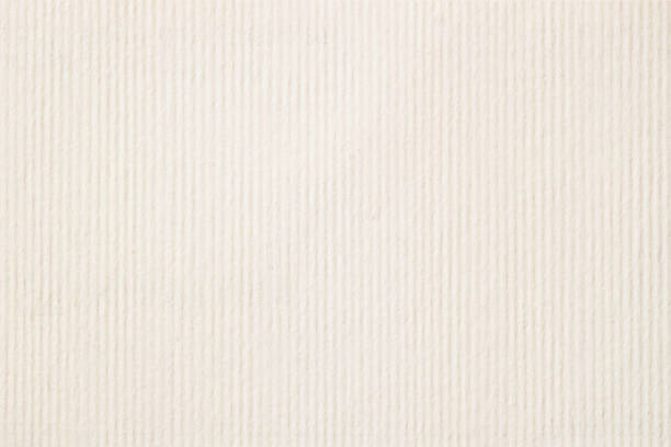 texture of light cream in a strip paper, gentle shade for watercolor and artwork. modern background, backdrop, substrate, composition use with copy space - striato foto e immagini stock