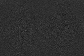 Texture of material rough sheets black color.