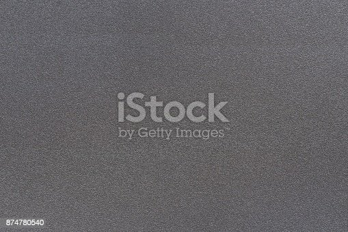 istock Texture of metal dark black color has rough surface, abstract background 874780540