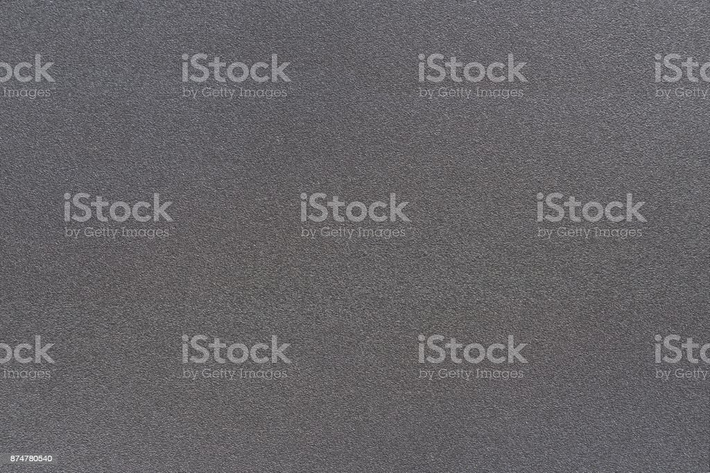 Texture of metal dark black color has rough surface, abstract background stock photo
