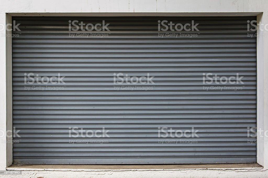 texture of metal door stock photo
