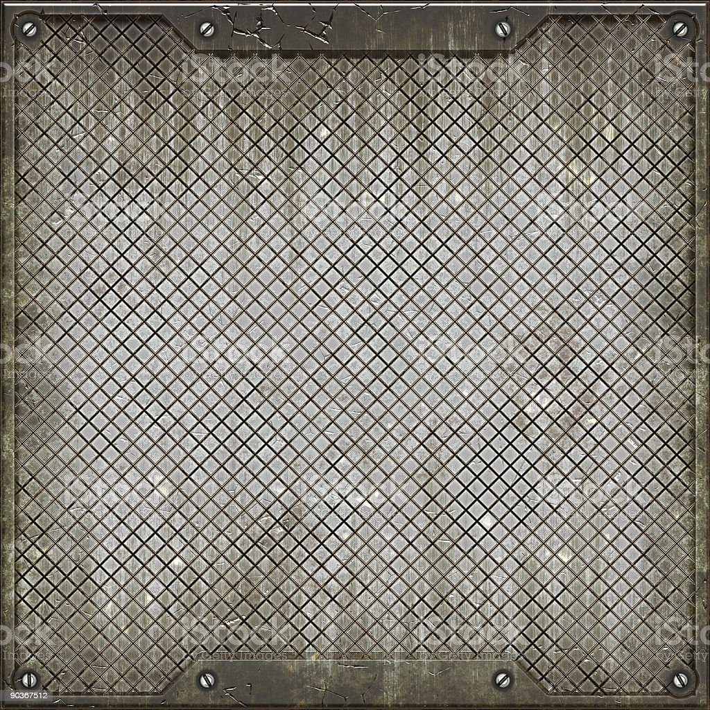 Texture of metal plate. royalty-free stock photo