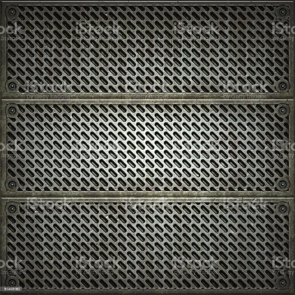 Textur von Metallbeschlag. – Foto