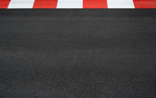 모터 경주 아스팔트와 커브 웅대한 prix 회로 - formula 1 뉴스 사진 이미지