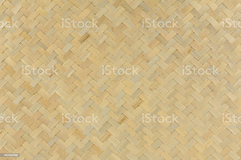 texture of native Thai style bamboo weave background