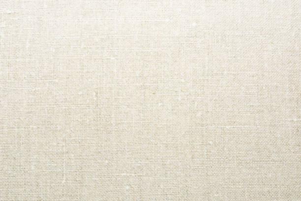 doğal keten kumaş dokusuna - pamuk tekstil stok fotoğraflar ve resimler