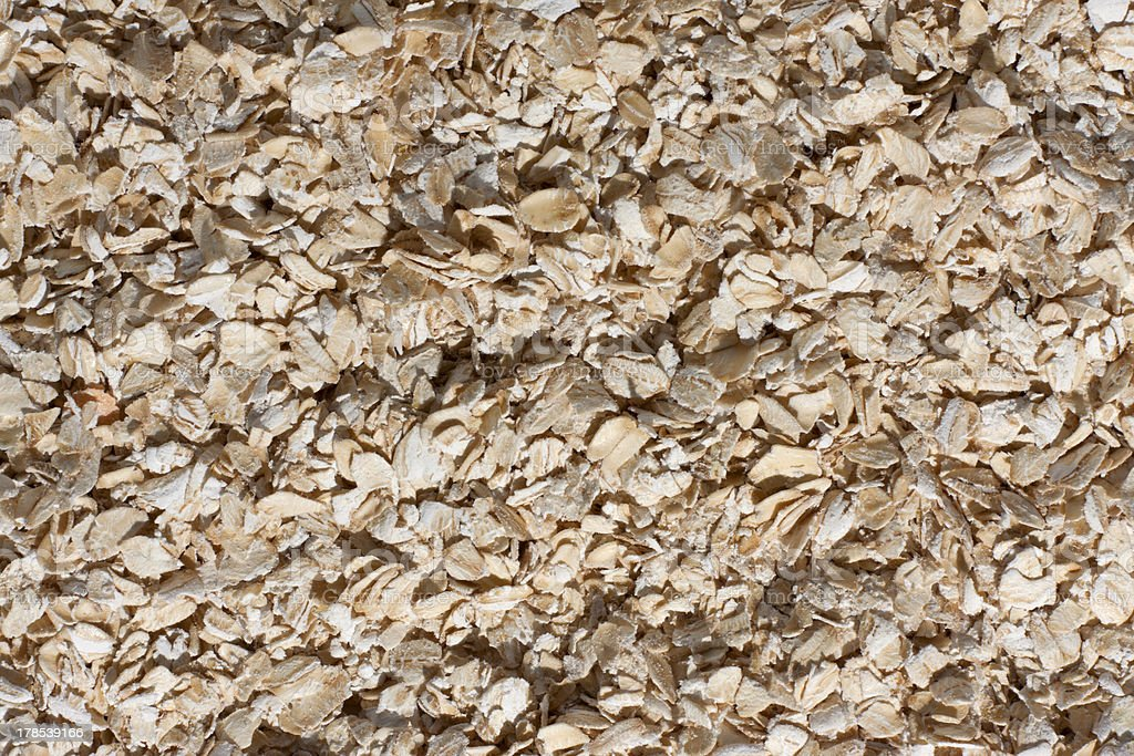 texture of oatmeal royalty-free stock photo