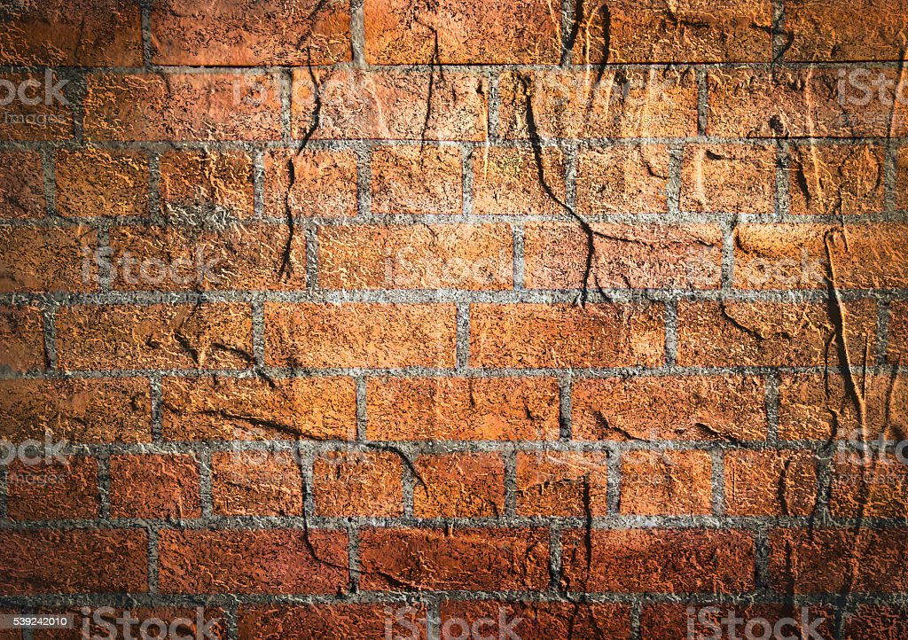 Texture of old brick wall background. royalty-free stock photo