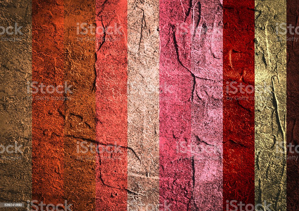 Texture of old concrete wall background. Color stripes royalty-free stock photo
