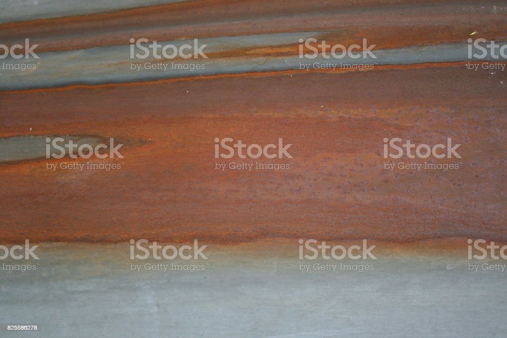 Texture of old gray rusty metal surface stock photo