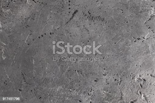 istock Texture of old metal, silvery close-up 917451796
