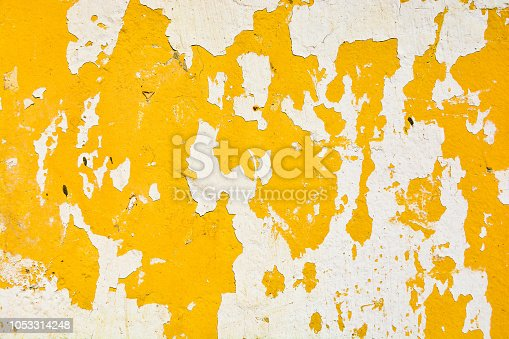 Texture of old painted wall background