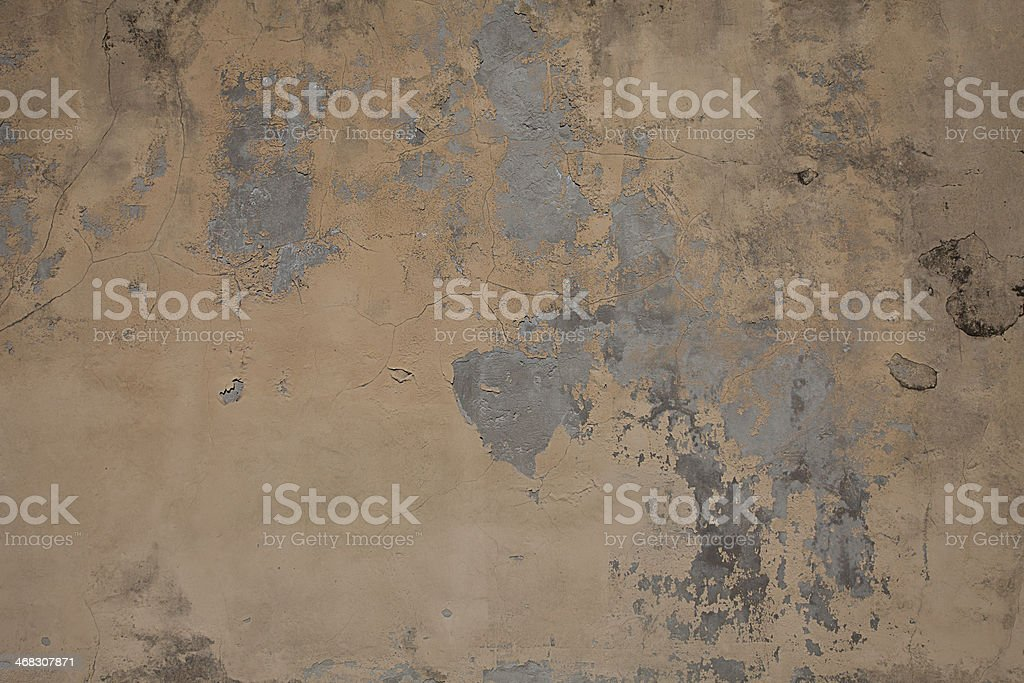 Texture of old painted wall royalty-free stock photo
