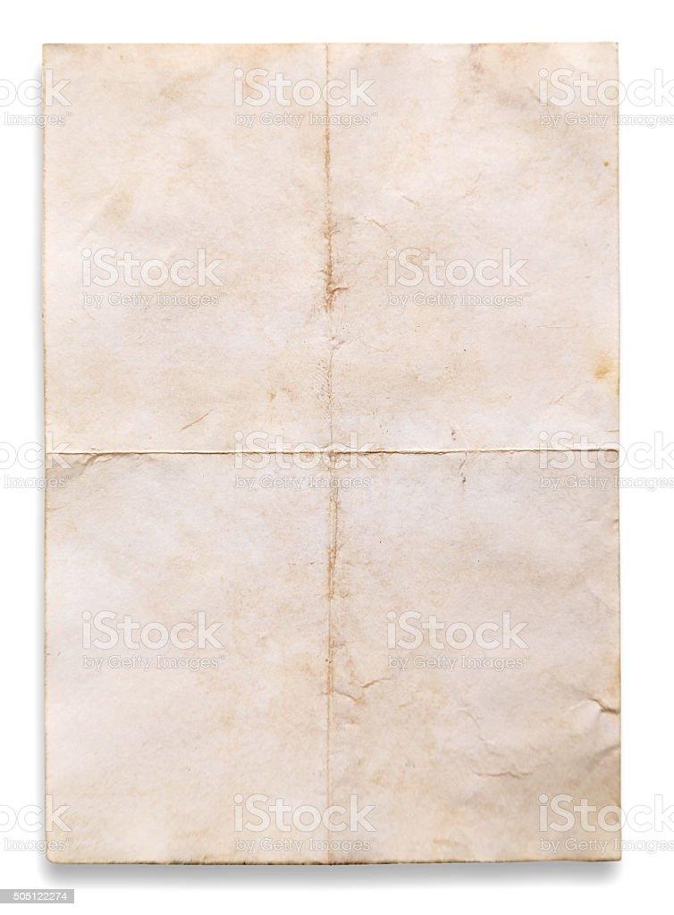 Textura velha de documentos - foto de acervo