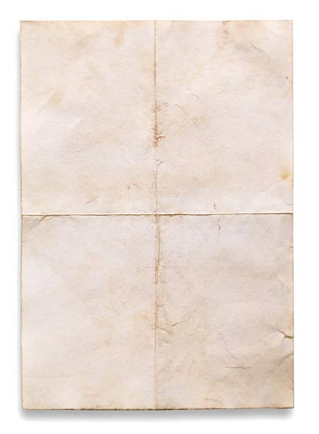 질감 낡은 종이의 - 구겨진 뉴스 사진 이미지