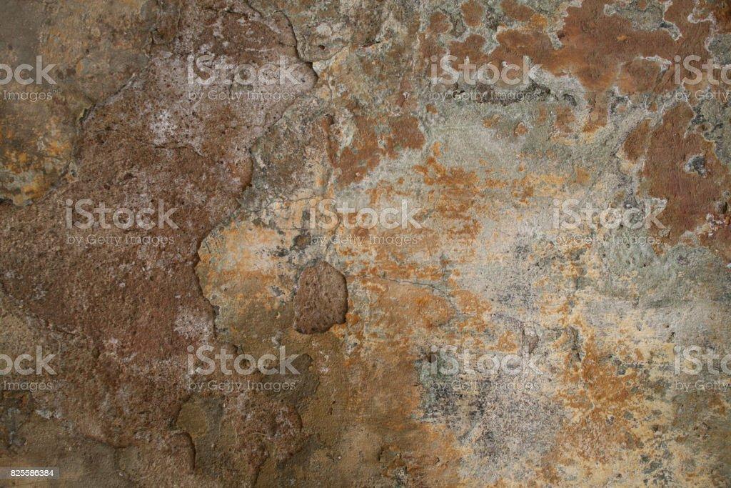 Texture of old shabby moldy wall royalty-free stock photo
