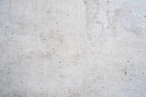 Texture of old white concrete wall for background