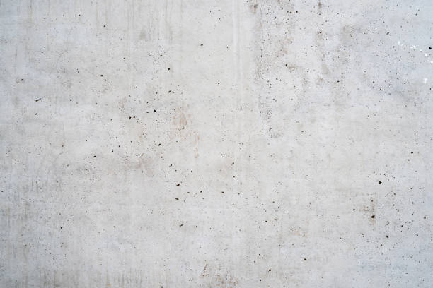 texture of old white concrete - wall foto e immagini stock