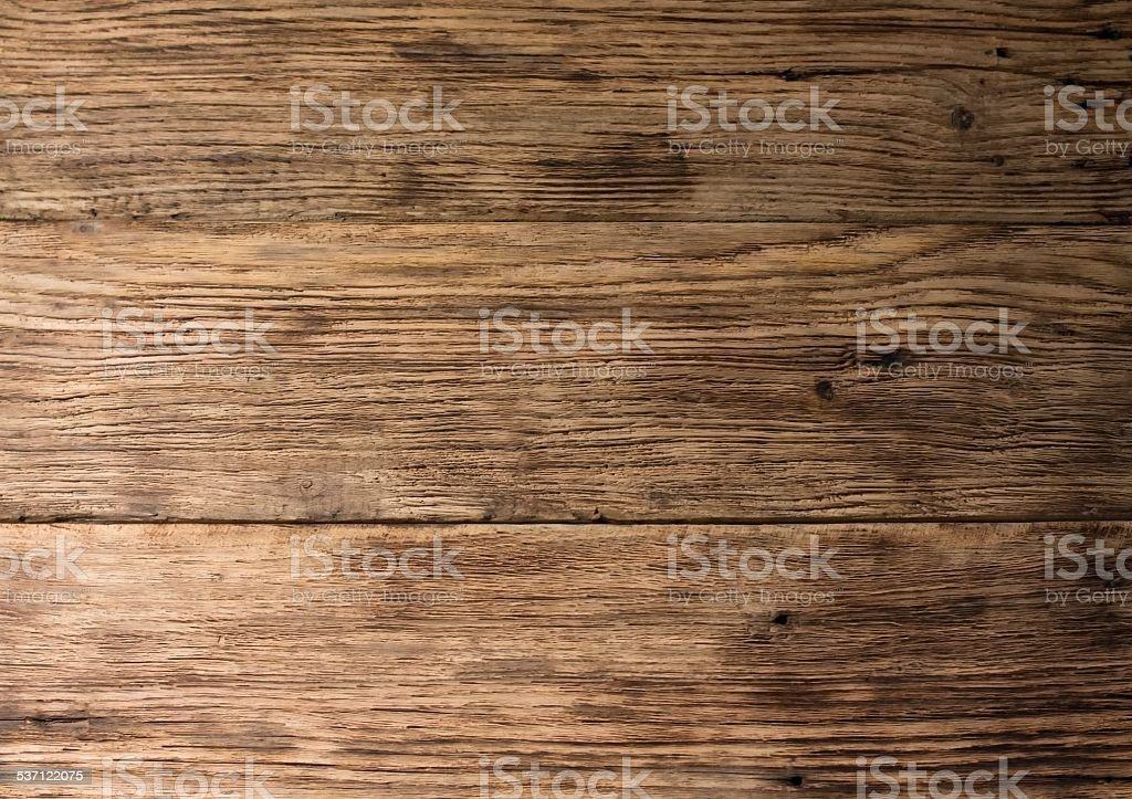 Texture of old worn wooden board stock photo