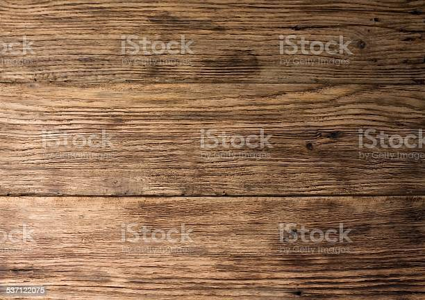 Photo of Texture of old worn wooden board