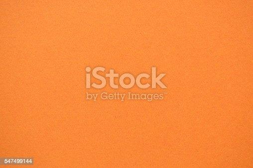 texture of orange color paper background
