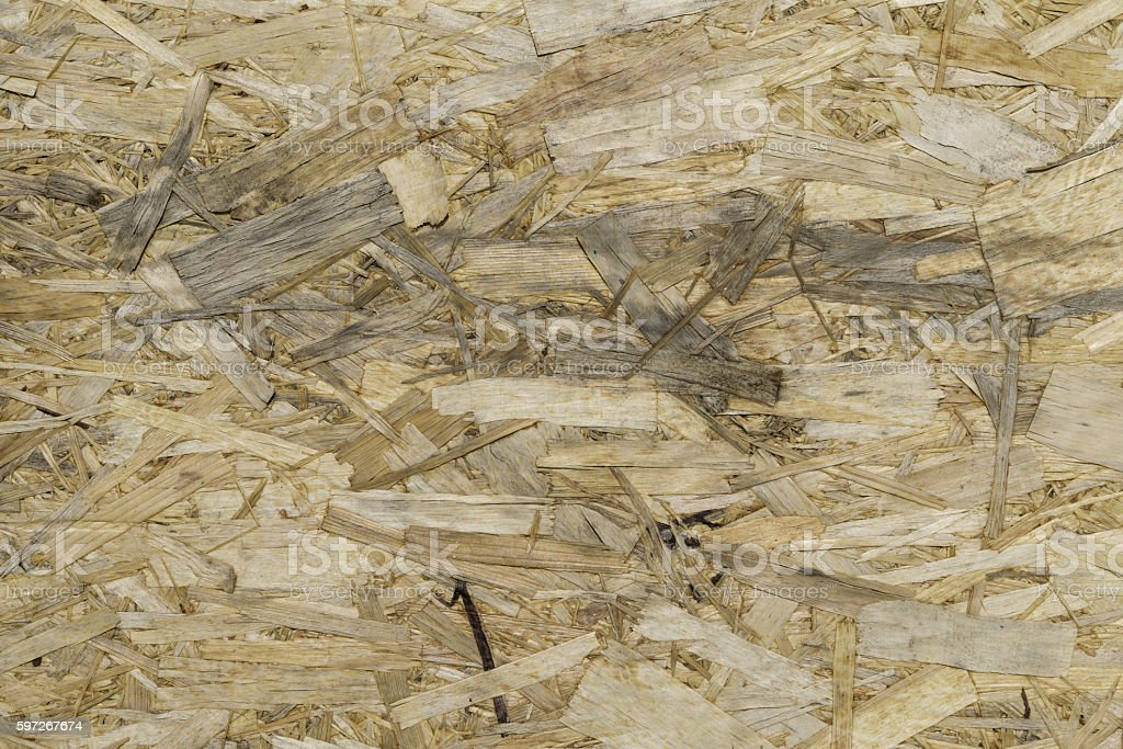 texture of oriented strand board royalty-free stock photo