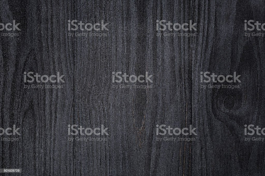 Texture Of Painted Pine Wood With Black Semiglossy Paint Royalty Free Stock  Photo