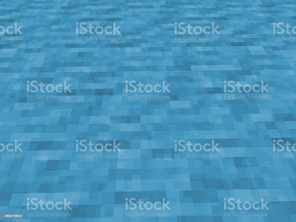 Pixelado textura de água - foto de acervo