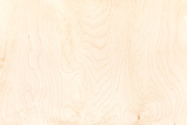 texture of plywood board. highly-detailed natural pattern background - foto de stock
