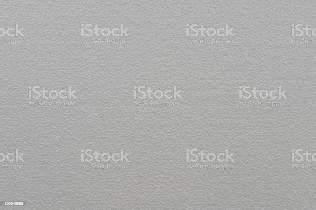 Texture of polystyrene, cellular white background. stock photo