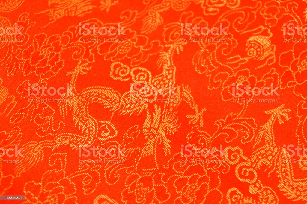 Texture of red chinese silk with dragons and flowers pattern stock texture of red chinese silk with dragons and flowers pattern royalty free stock photo mightylinksfo