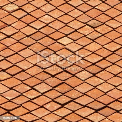 909806032istockphoto texture of roof, texture of brown rooftop in temple 495590801