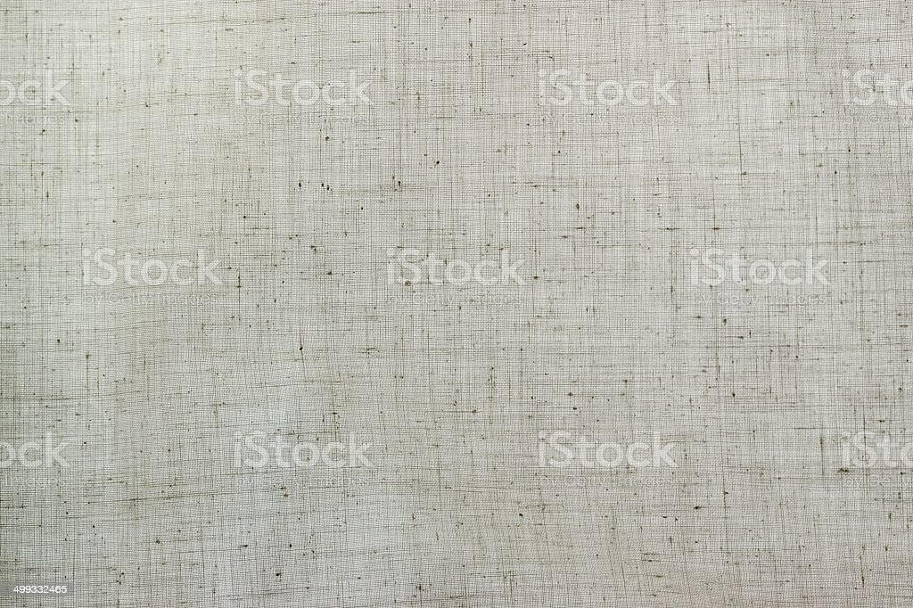texture of rough cotton or linen fabric stock photo