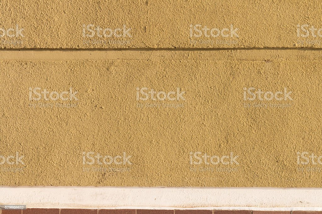 Texture Of Rough Plaster On A Sunny Day Stock Photo & More Pictures ...
