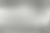 Texture of rough silver metallic plate, abstract background