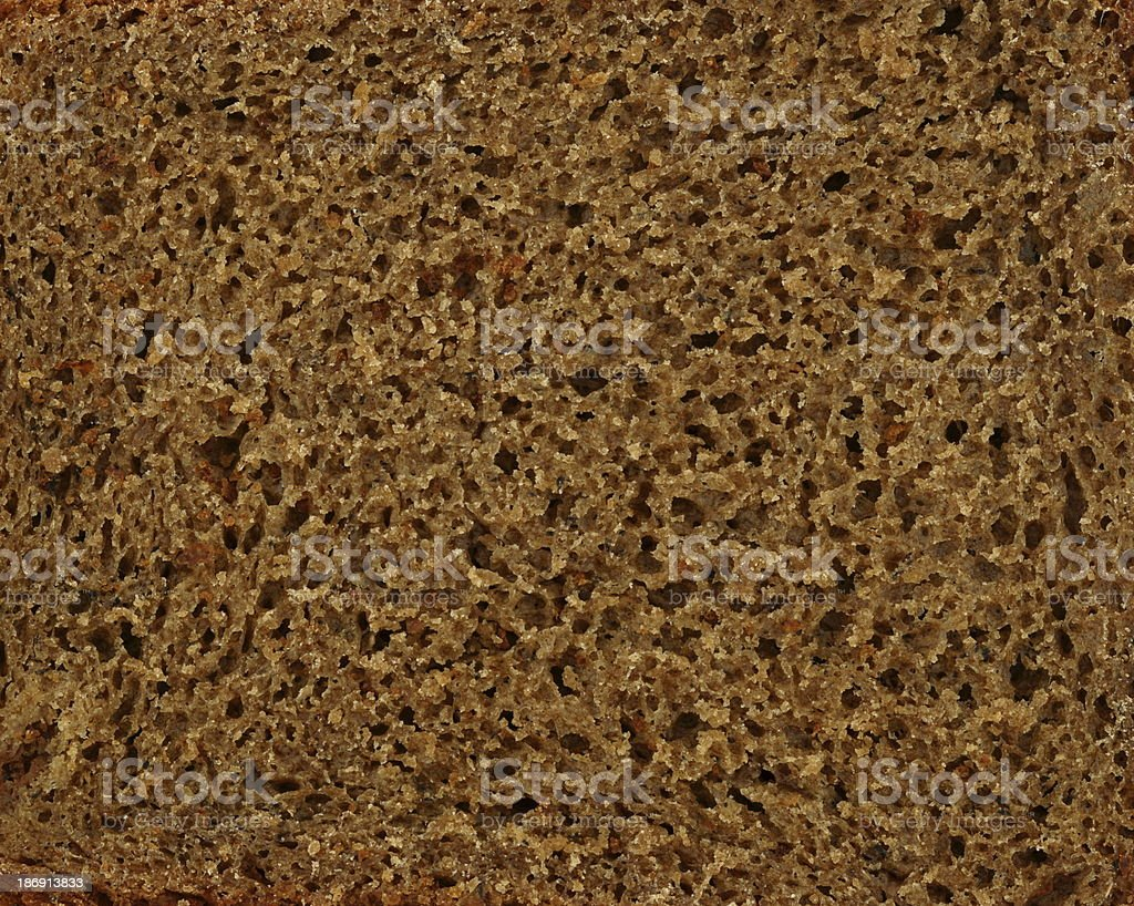 Texture of rye bread royalty-free stock photo